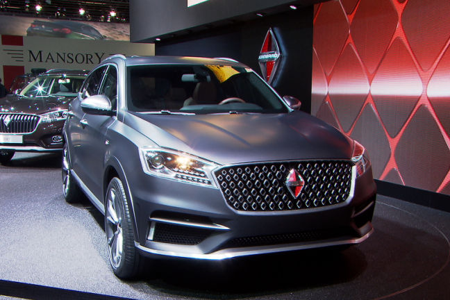 video borgward bx7 ts iaa 2015. Black Bedroom Furniture Sets. Home Design Ideas