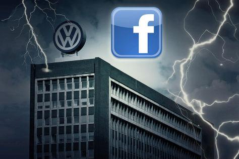 VW-Abgasaffäre auf facebook
