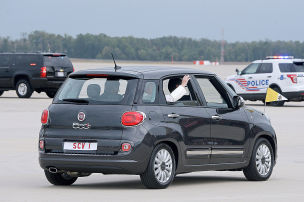 Franziskus fährt Fiat