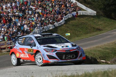 Thierry Neuville kommt als bestplatzierter Hyundai-Fahrer auf die Insel Korsika