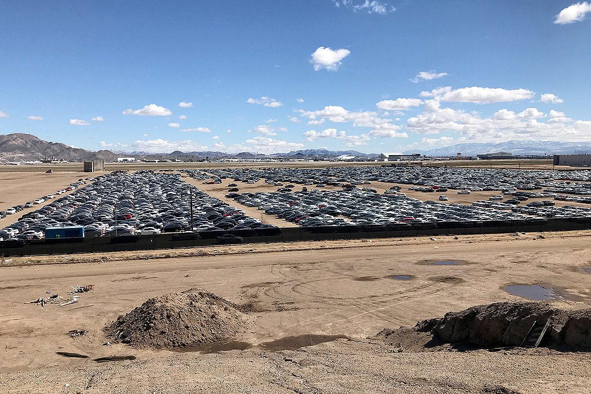 Friedhof der VW-Schummel-Diesel in den USA