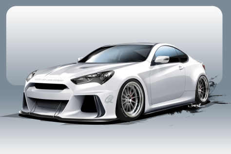 Hyundai Genesis Coupe ARK Performance SEMA 2015: Vorstellung