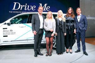 Familie testet autonomen Volvo