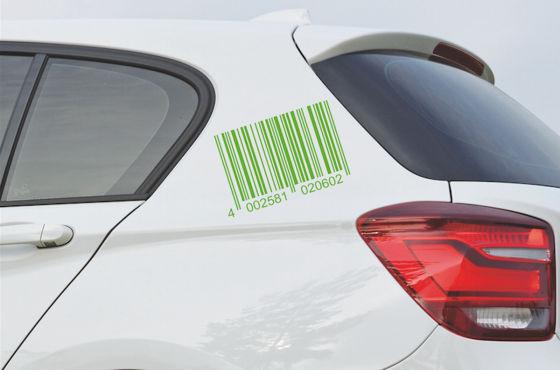 Barcode-Sticker