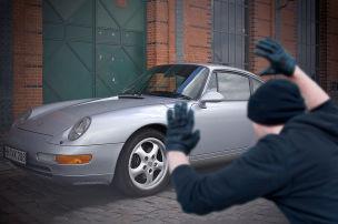Diebstahlschutz für Porsche-Klassiker