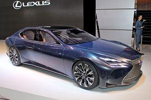 Lexus LF-FC: Tokyo Motor Show 2015