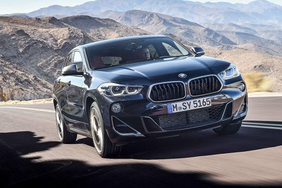 Der BMW X2 wird mächtig