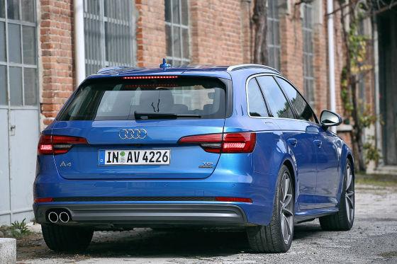 Neuer Audi A4 Avant Erster Test Autobildde