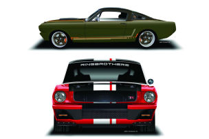 Mustang-Duo f�r die SEMA