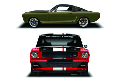 Ford Mustang Ringbrothers (SEMA 2015): Vorstellung