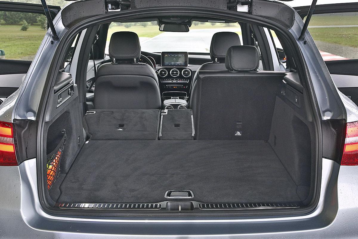 Mercedes Glc Vs Land Rover Discovery Sport Bilder
