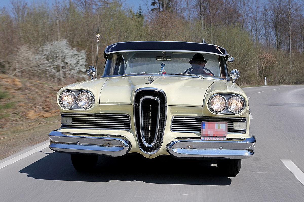 Beziehungskiste: Günter Schiele und seine Ford Edsel