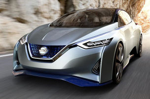 Dieser Nissan fährt autonom