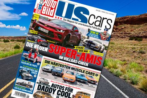AUTO BILD US CARS 1/2016: Blick ins neue Heft