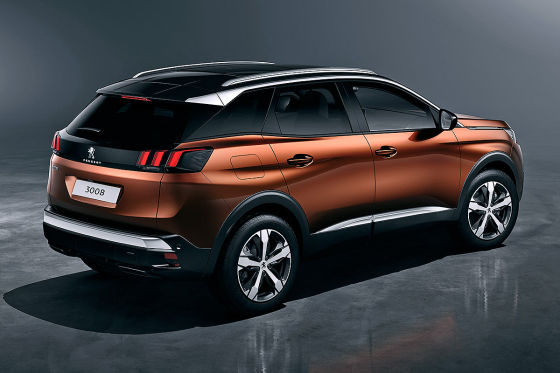 Peugeot 3008 Illustration