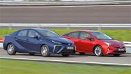 Toyota Prius/Toyota Mirai: Test