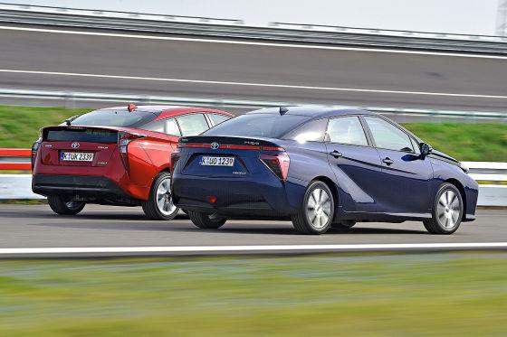 Toyota Prius Toyota Mirai