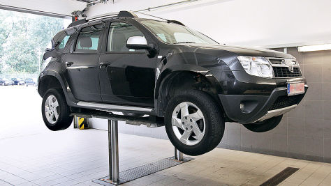 Werkstatt-Test: Dacia