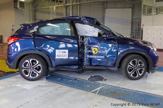 Honda HR-V im Euro NCAP-Crashtest