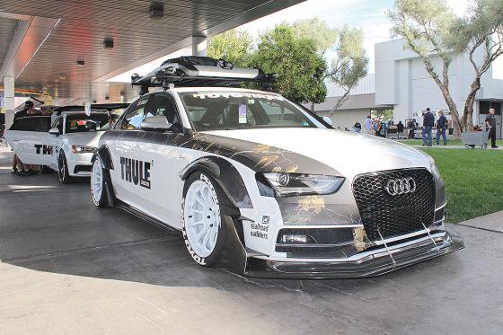 Audi im Zeichen von Jon Olsson
