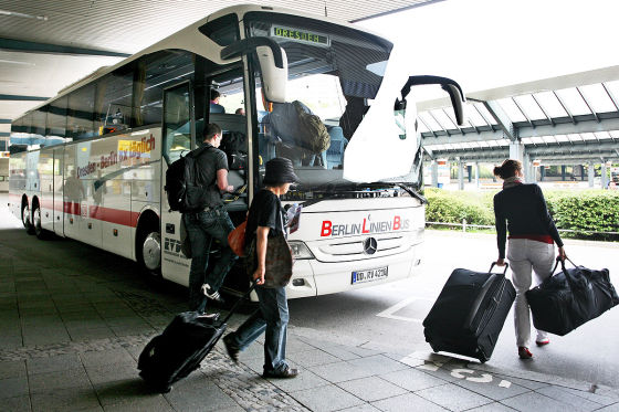 Fernbusse in der Kontrolle