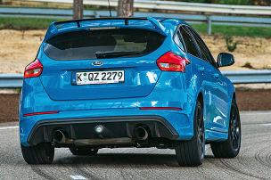 Unterwegs im neuen Focus RS