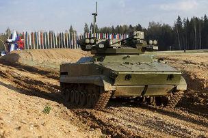 Russische Panzer-Drohne
