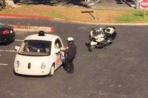Polizei stoppt Google-Auto
