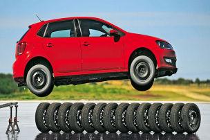 Reifen für Kleinwagen