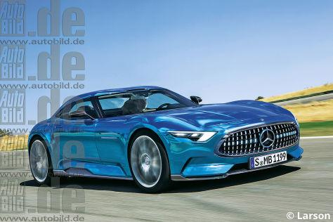Mercedes Amg Slr Ii Vorschau Autobild De