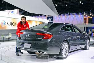 Buick LaCrosse (LA 2015): Sitzprobe