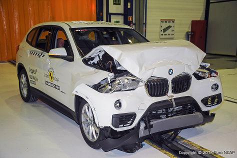 Bmw X1 Euro Ncap Crashtest 2015 Autobild De
