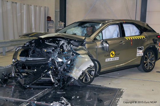 Fünf Sterne für Hybrid-SUV