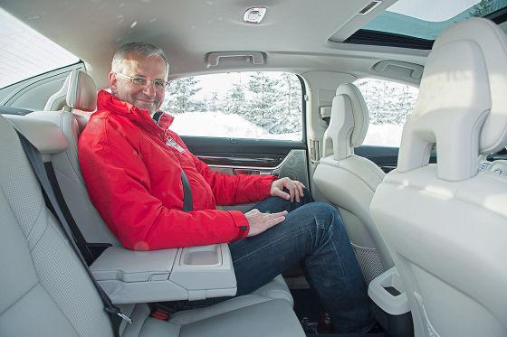 Erste Fahrt im neuen Volvo S90