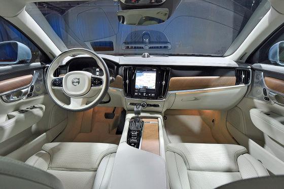 Erster Check im neuen Volvo S90
