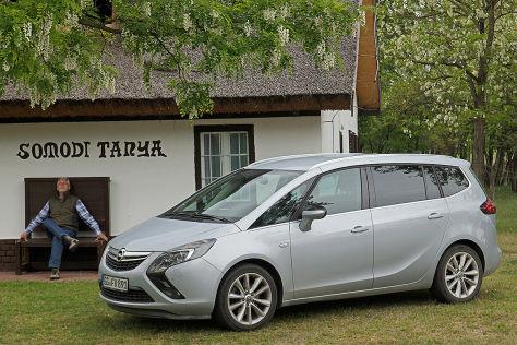 Opel Zafira 100000 Kilometer Dauertest Autobildde