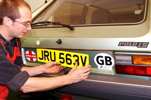 Britische Kennzeichen