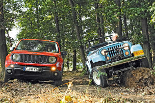 Jeep Renegade trifft CJ-5