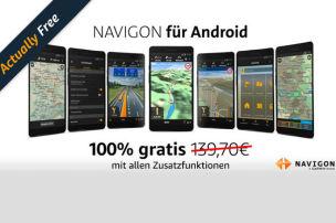 Navigon als Kostenlos-App