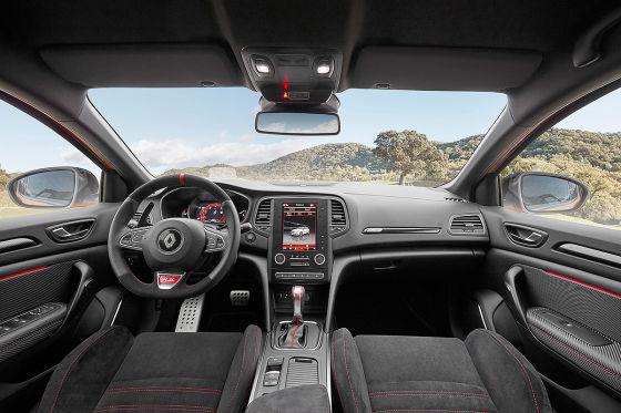 Mégane RS mit Allradlenkung