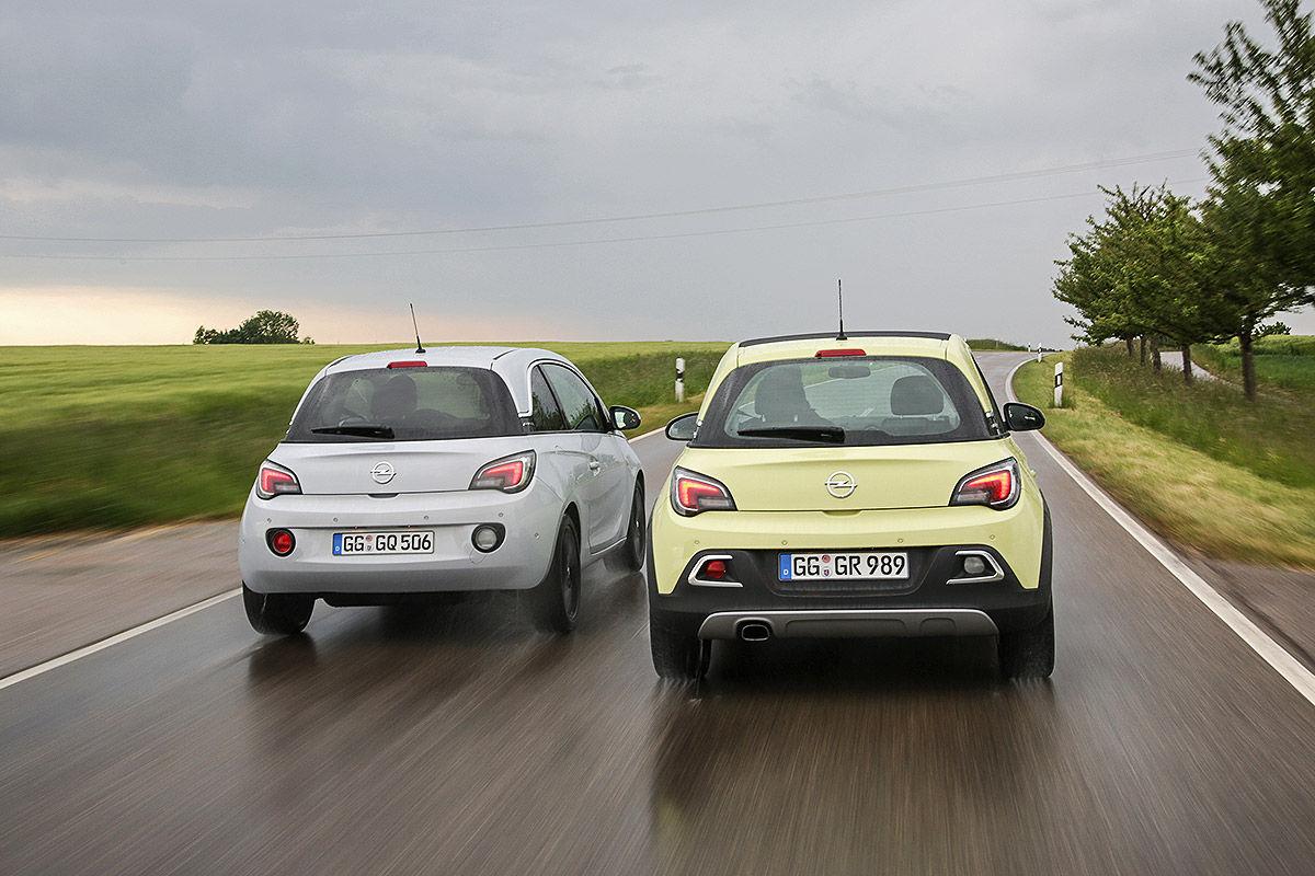 Opel Adam 1.4 LPG, Opel Adam Rocks 1.0 Ecotec