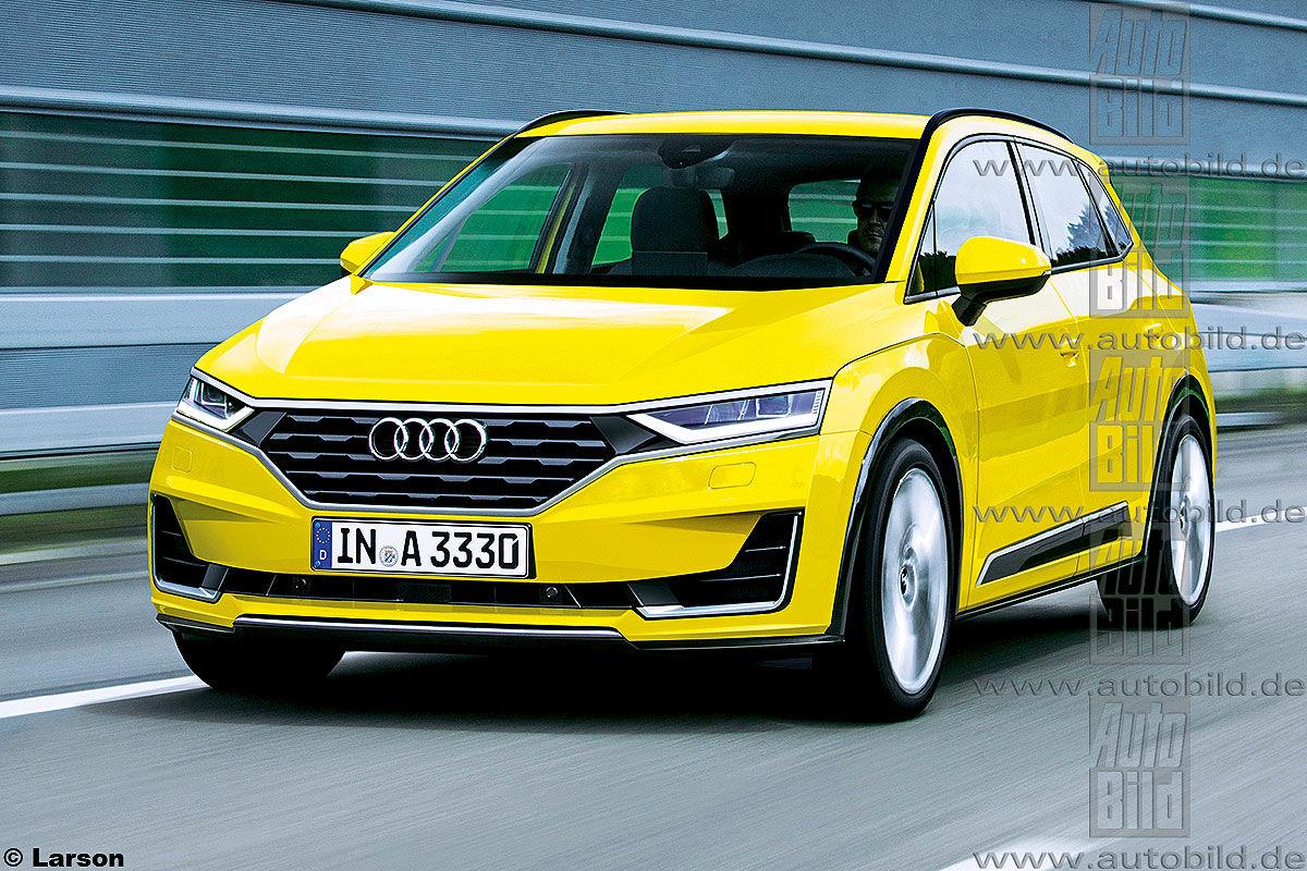 Audi A3 Vario Illustration