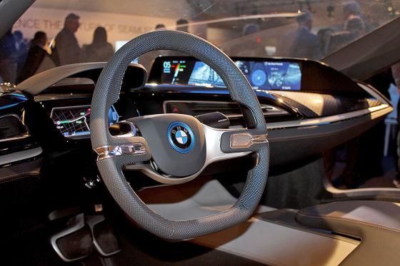 Im BMW der Zukunft