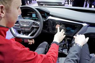 Audi A8: Infotainment-Check (CES 2016)