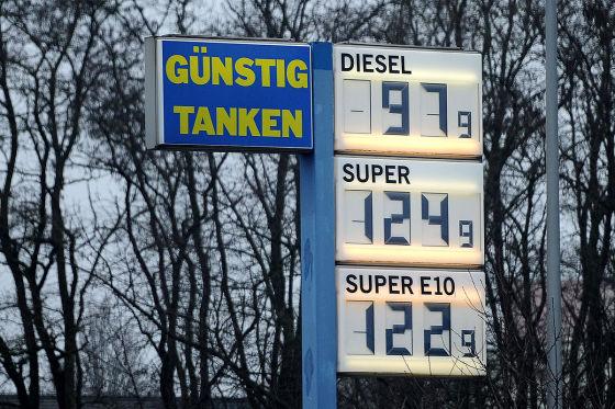 Spritpreise: Diesel unter einem Euro