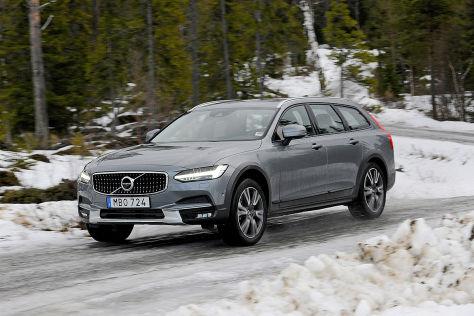 Volvo V90 Cross Country 2017 Im Test Fahrbericht Preis