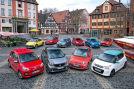 VW Up, Smart forfour, Fiat 500, Opel Adam, Hyundai i10, Renault Twingo, Skoda Citigo, Toyota Aygo, Seat Mii, Citroën C1