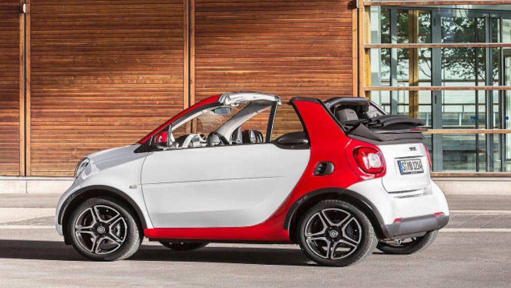 Smart fortwo Cabrio (