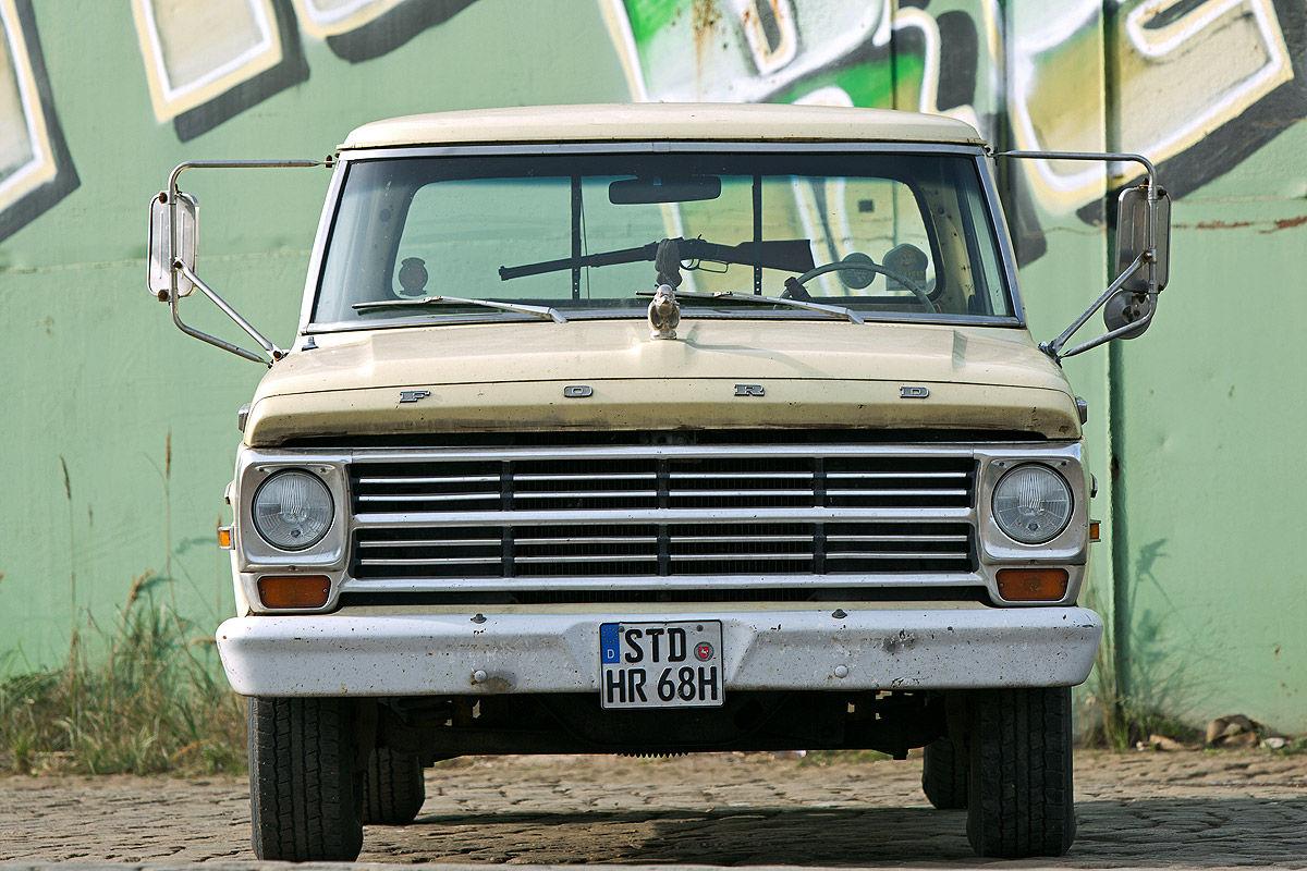 Diese Zehn Us Klassiker Laden Zum Trumen Ein Bilder 1969 Ford Ranger Camper Special
