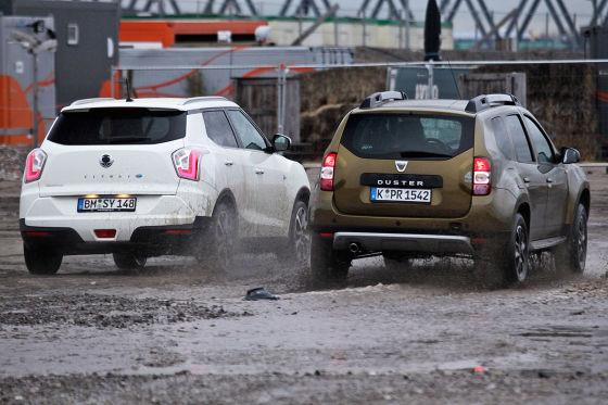 Dacia Duster SsangYong Tivoli